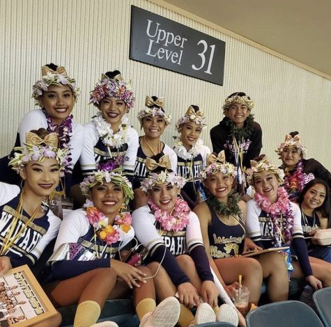 Varsity cheerleading team makes Marauder history